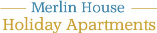 Merlin House Holiday Apartments Logo